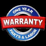 One Year Warranty, Frontier Plumbing Portland OR